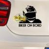 Biker on Bord
