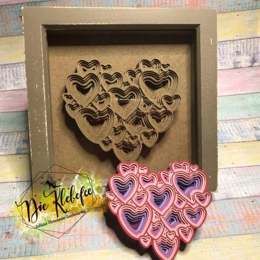 3-D Herzen